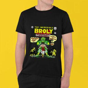 Broly Shirt The incredible Broly T-Shirt