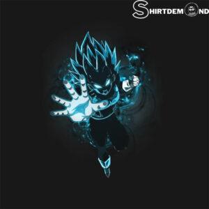 Vegeta Tshirt Dragon Ball Super Vegeta Super Saiyan Blue T-Shirt 1