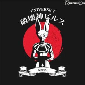 Beerus Shirt Dragon Ball Shirt