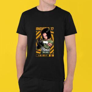 Android 17 shirt Dragon Ball Z Shirt